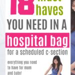 Packing hospital bag