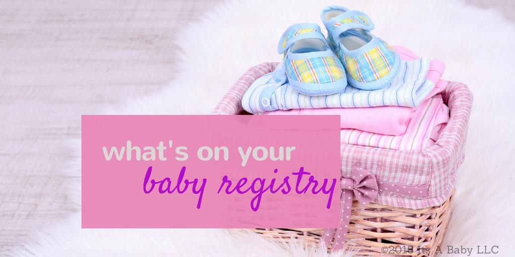 creating baby registry/www.professionalmomma.com