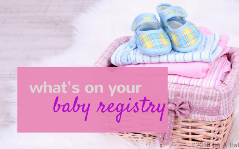 creating baby registry/www.professionalmomma.com