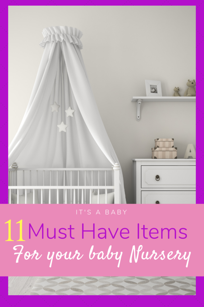 Baby Checklist for Nursery Must Haves