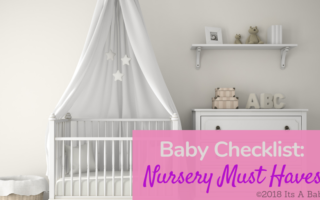 Baby Checklist for you Nursery Essentials