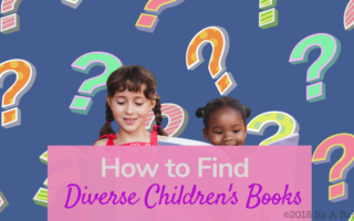 How do you find children's books that are diverse