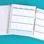 Erin Condren life planner layout