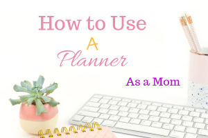 Using a lifestyle Planner as mom