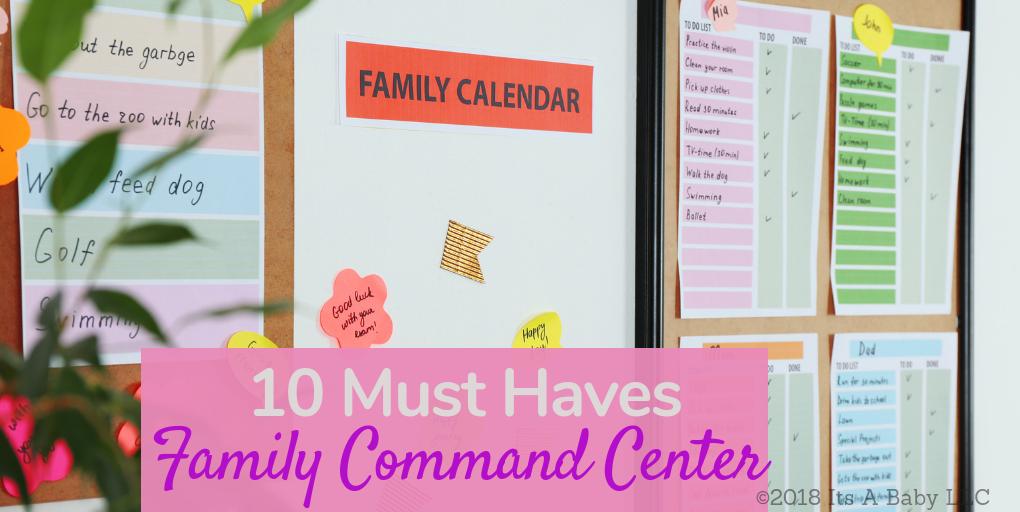 Family Command Center Essentials