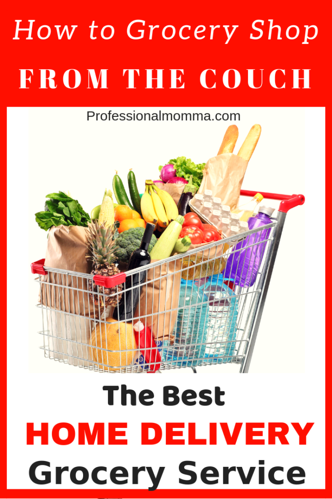 save time with home grocery delivery service