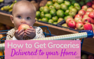 Get Groceries Delivered to Home