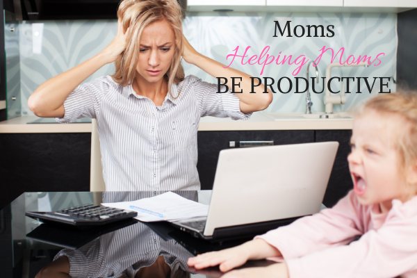 Moms sharing productivity tips