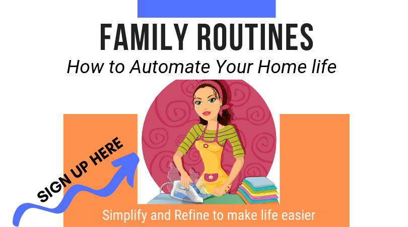 Family Routines Course For Working Moms. Sign up here.