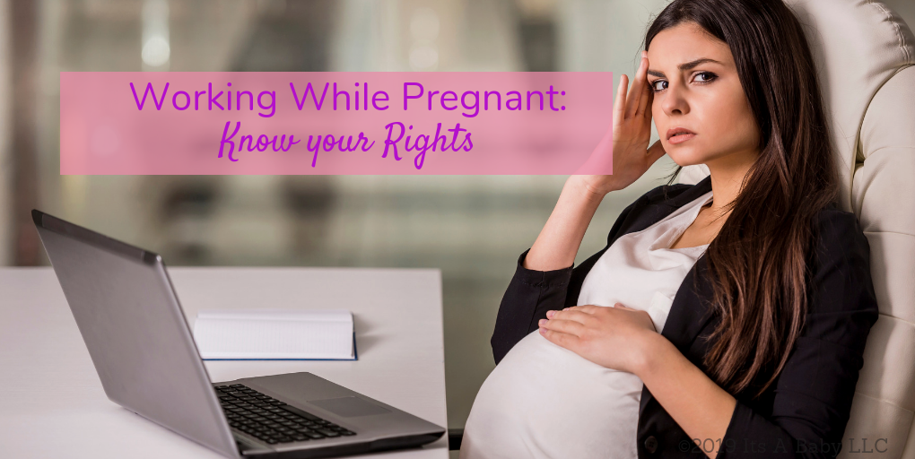Mom Working While Pregnant