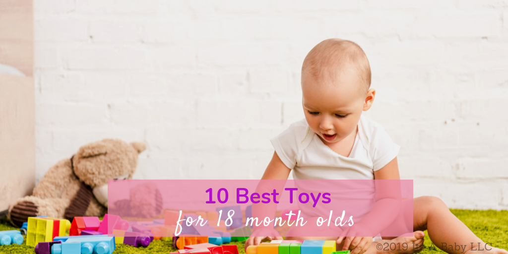 18 month old playing with gender neutral toys