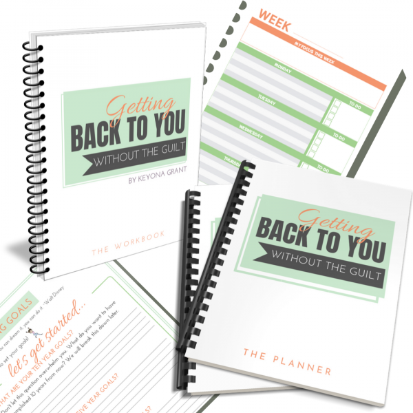 Goal Setting Planner and Workbook with preview pages