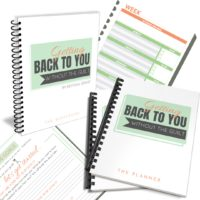 Getting Back to You Goal Setting Workbook and Planner