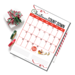 Christmas 2019 Countdown Calendar Template