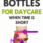 how to label bottles for daycare