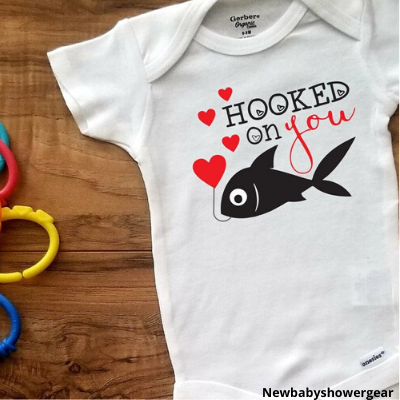 Hooked on You Baby Shirt
