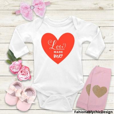 Baby's Valentine Day Shirt
