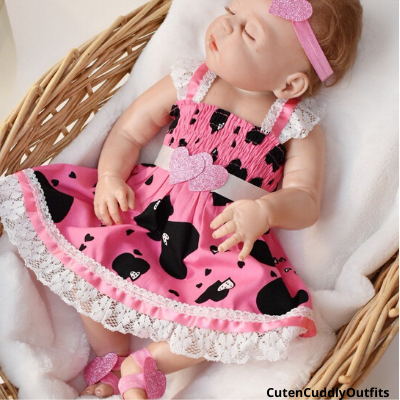 cute valentine's day dress for baby