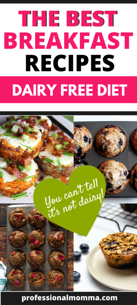 dairy free breakfast recipes