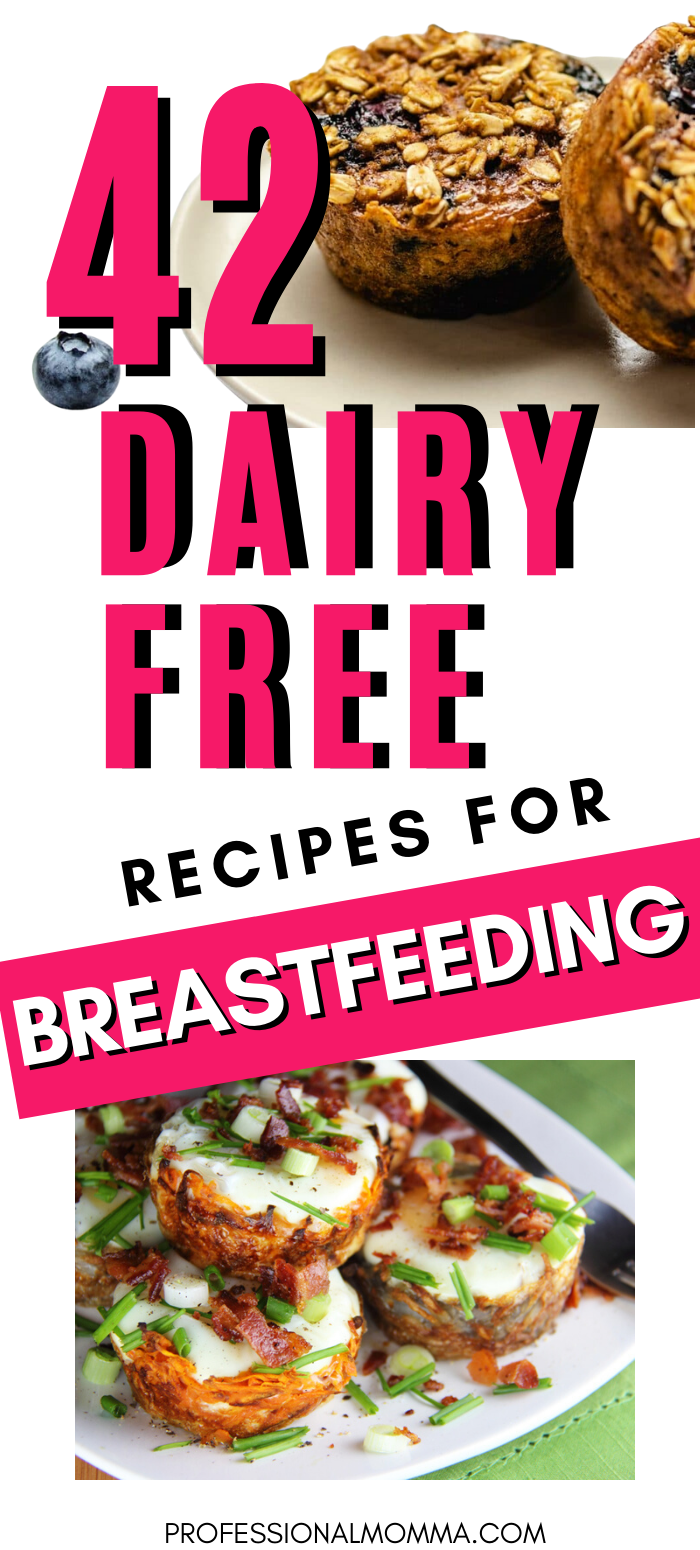 photo of dairy free meals for breastfeeding moms
