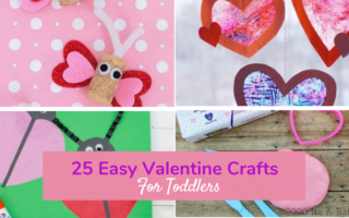 pictures of easy valentine crafts for toddlers