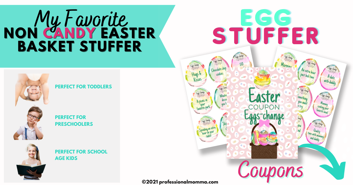 Easter Coupons for Easter Basket Stuffer Ideas