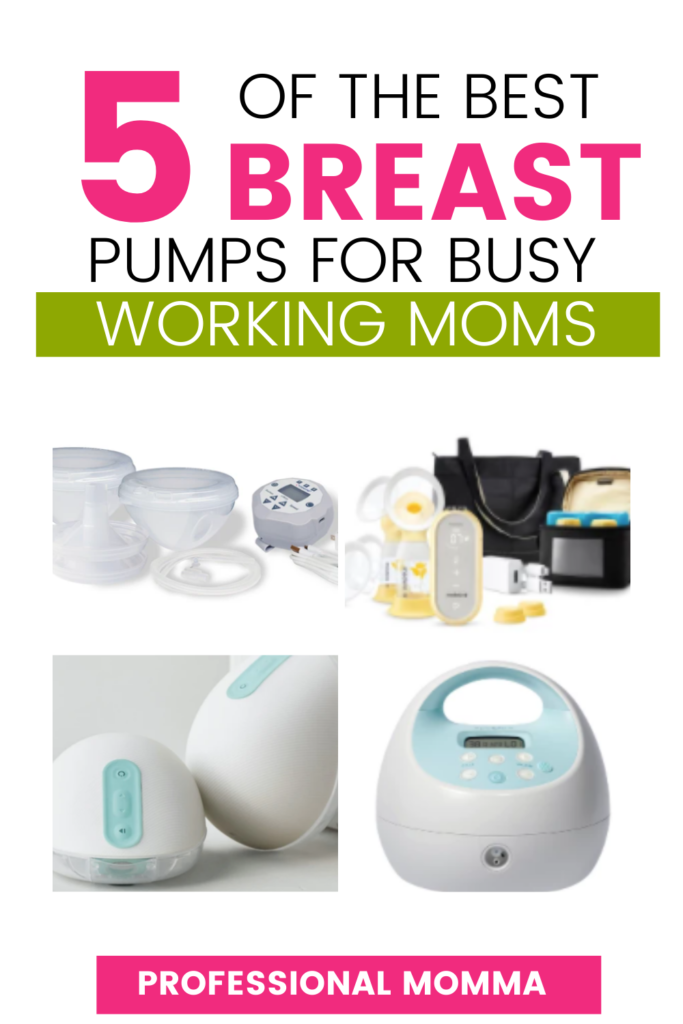 Best breast pump for working moms collage