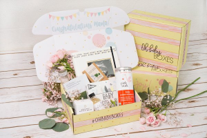pregnancy subscription box gift for someone who just found out they are pregnant