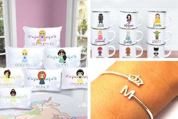 personalized princess gifts