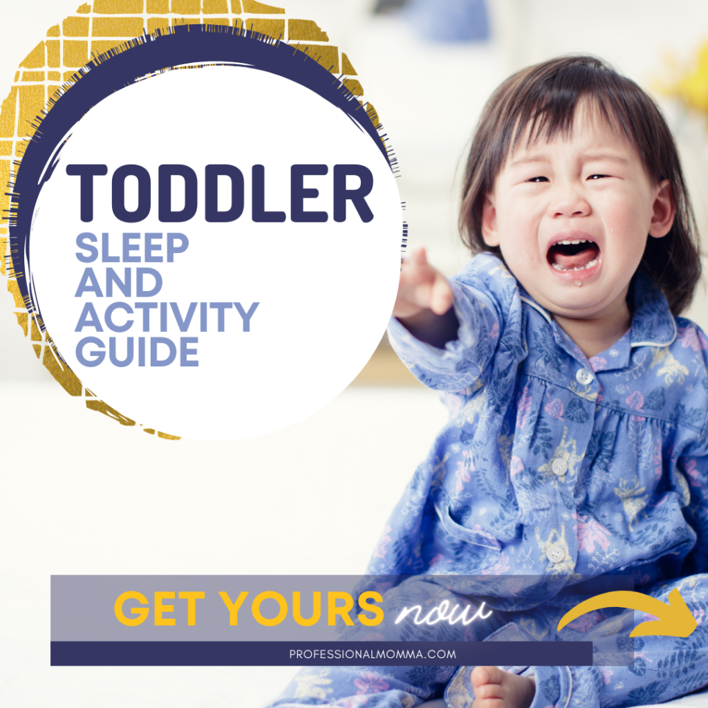 Sleep Guide to Help Toddler Bedtime Routine