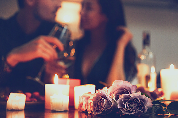 romantic valentines dinner at home
